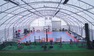 Athletic and Recreational Buildings with a basketball court