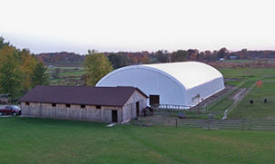 Equestrian Fabric Building