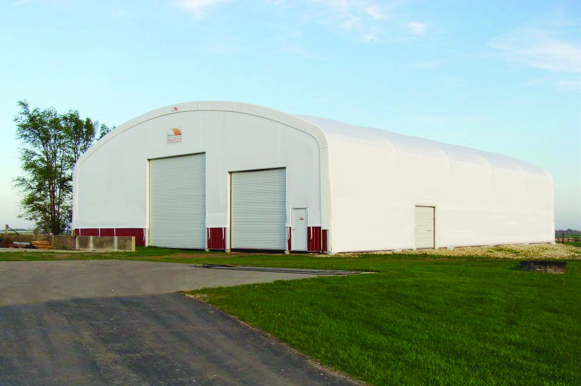 Equipment Garage Clearspan
