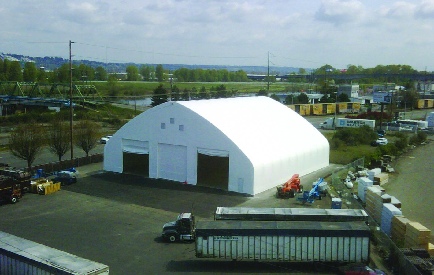 Vehicle Garage Clearspan