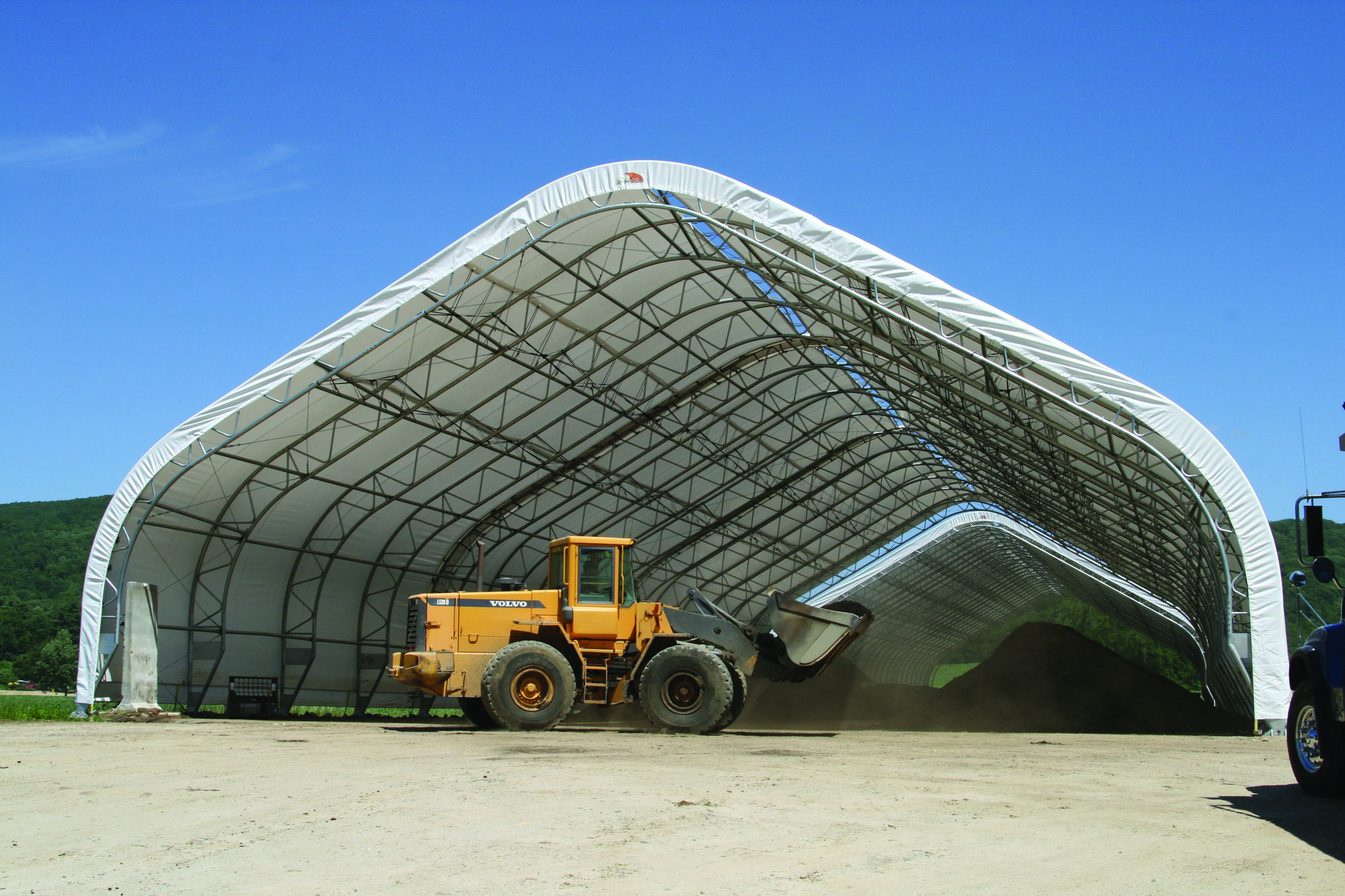 Sand Amp Salt Storage Buildings Clearspan