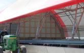 Fabric cattle barn