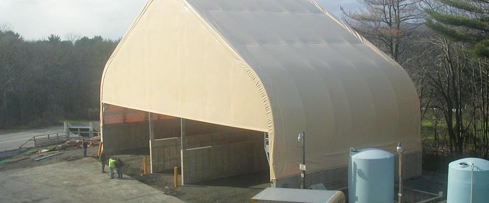 Airport repair building