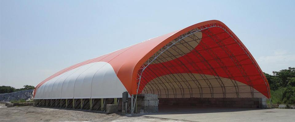Custom airport building