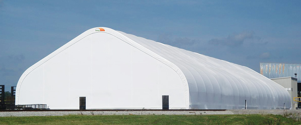 Large fabric buildings
