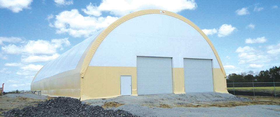 Custom fabric structures
