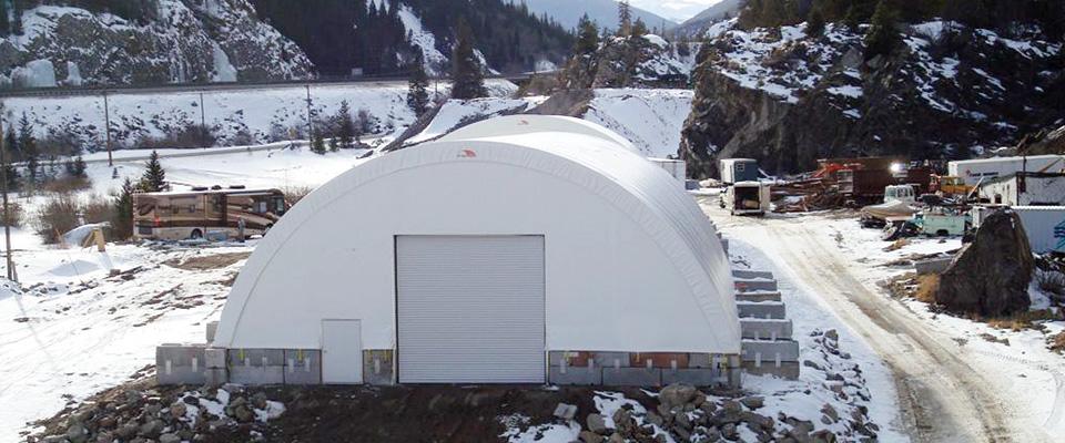 Bulk storage buildings