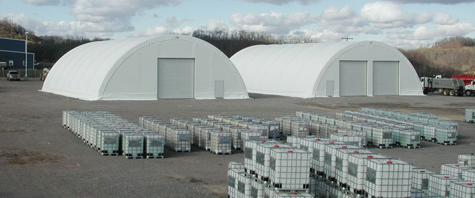 Commercial storage structures