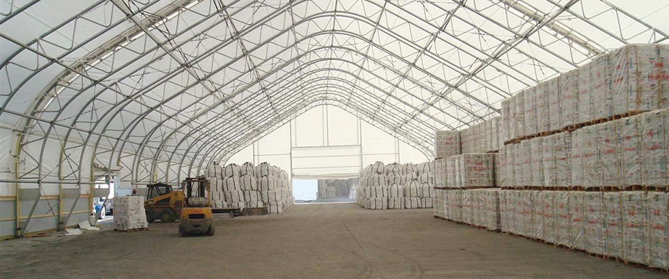 Commercial storage structure