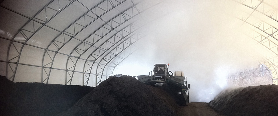 Compost storage