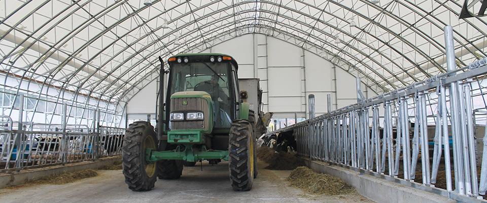 Fabric dairy barns