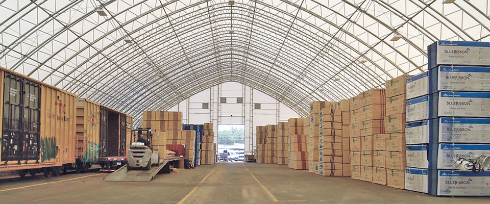 Distribution center building