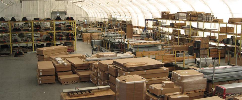 Distribution center buildings