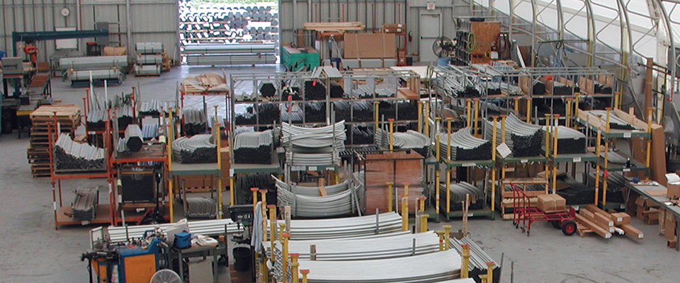 Distribution center structure