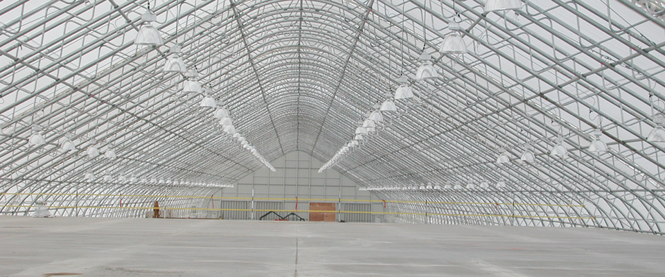 Large fabric structures
