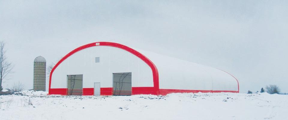 Emergency shelter building