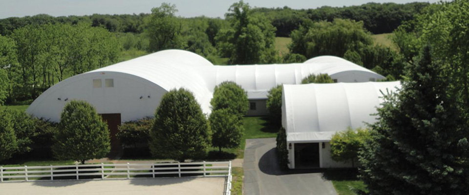 Custom horse arena
