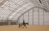 Custom riding arena