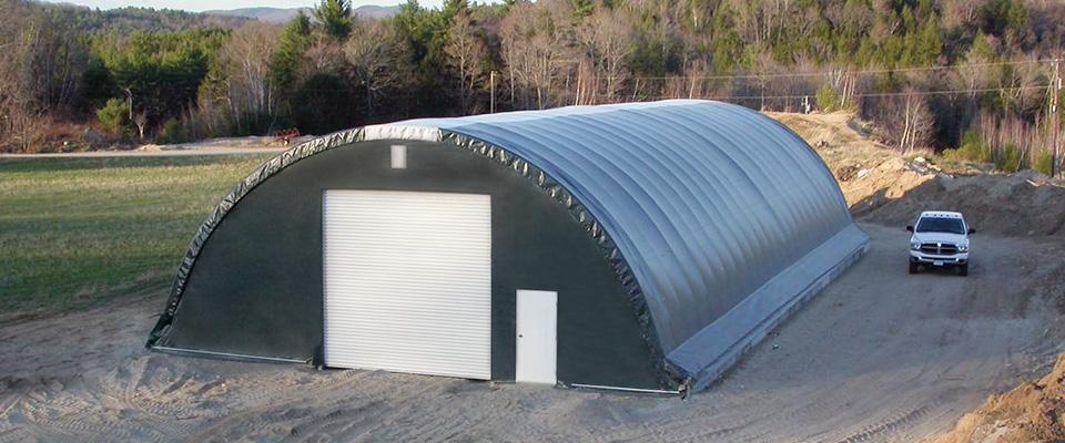 Equipment garages