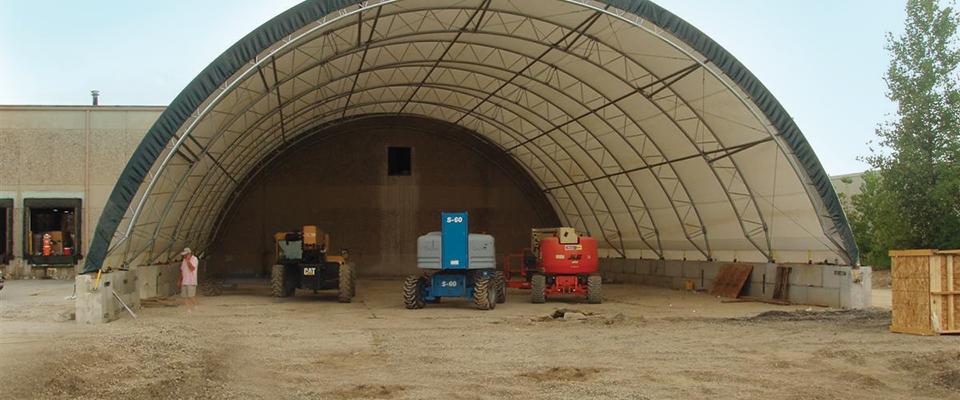 Equipment storage structure