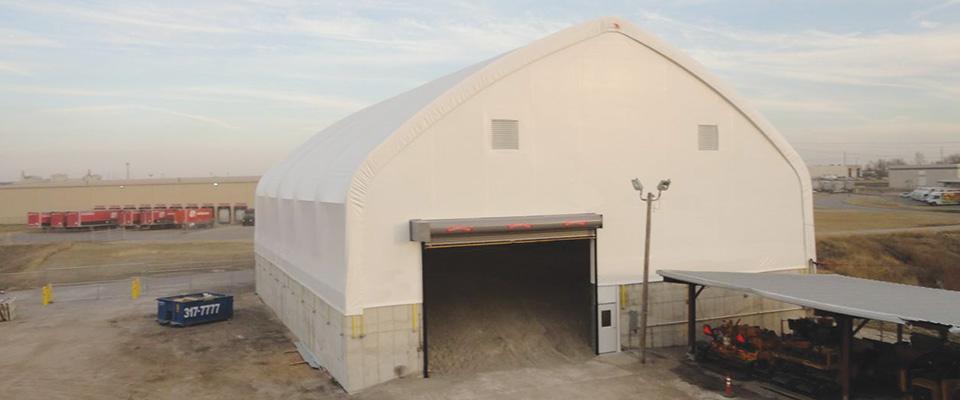 Equipment storage structures