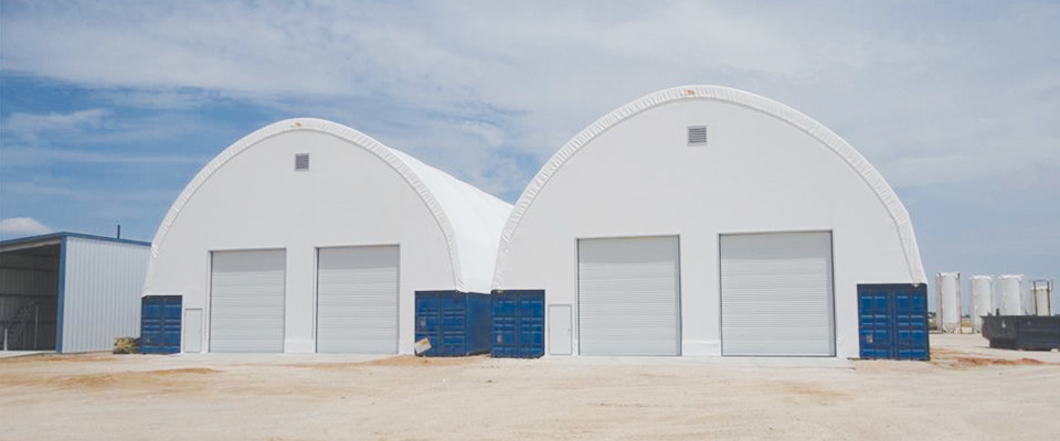 Fabric storage structure