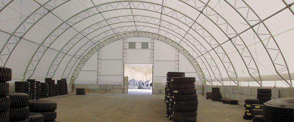 Fabric storage structure