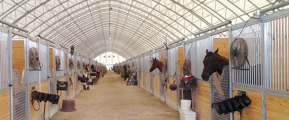 Horse Barns & Stables
