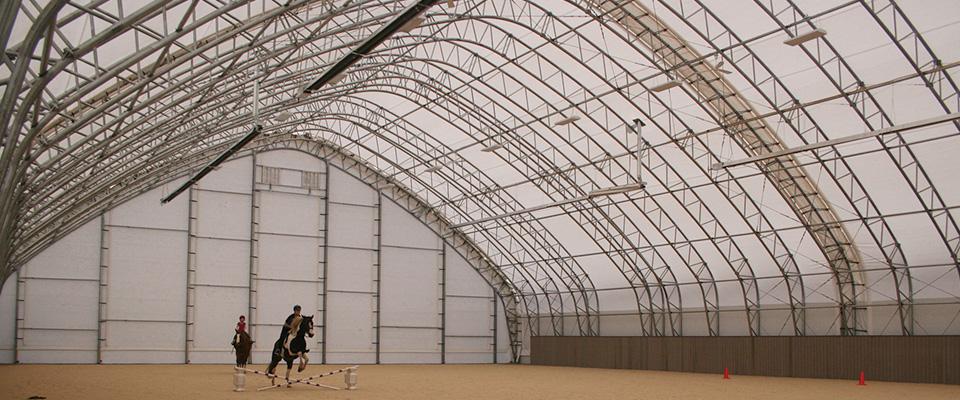 Custom indoor riding center