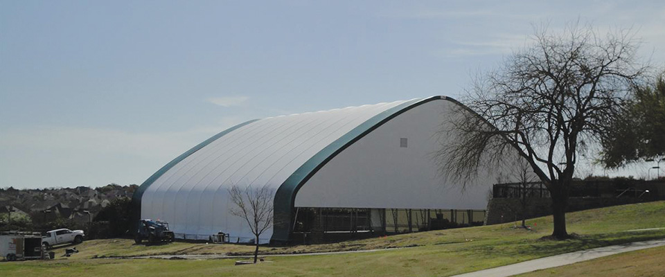Sports building