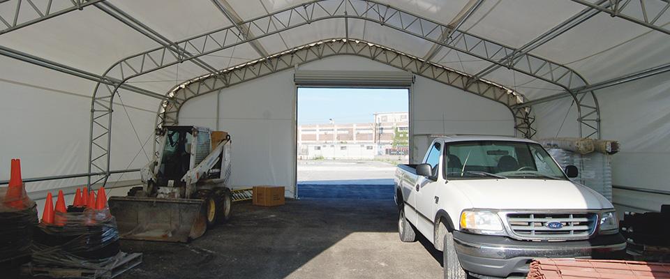 Machinery storage structure