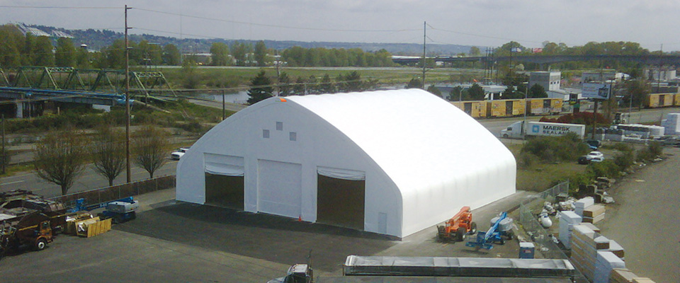 Fabric marine facility