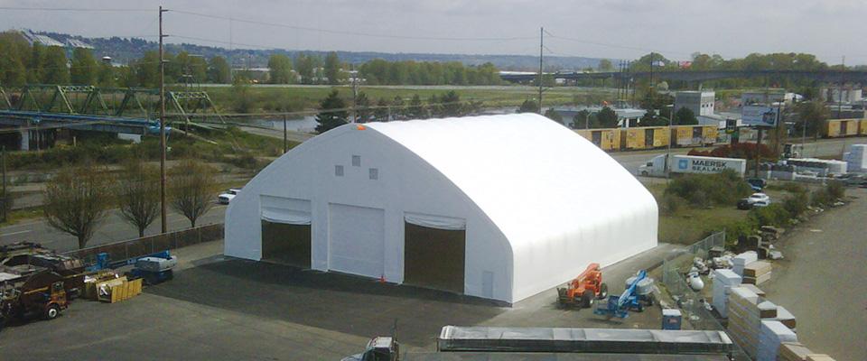 Fabric marine facility