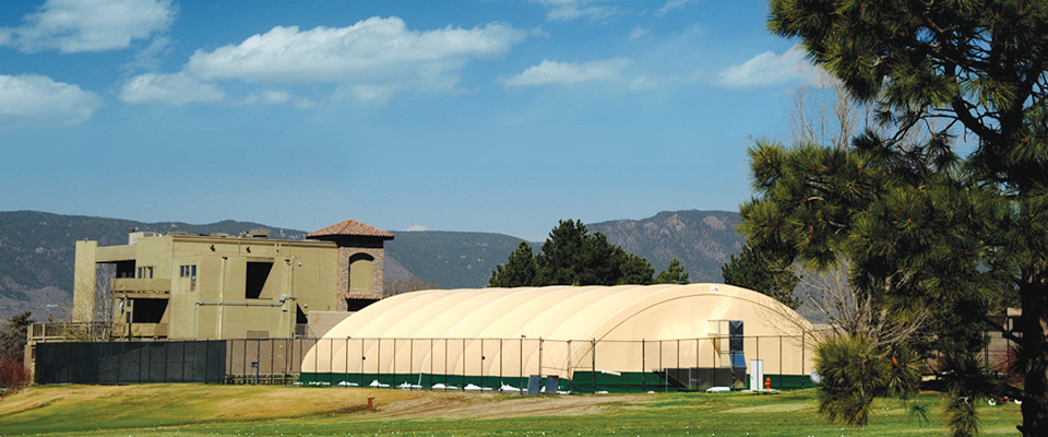 Clearspan fabric structure