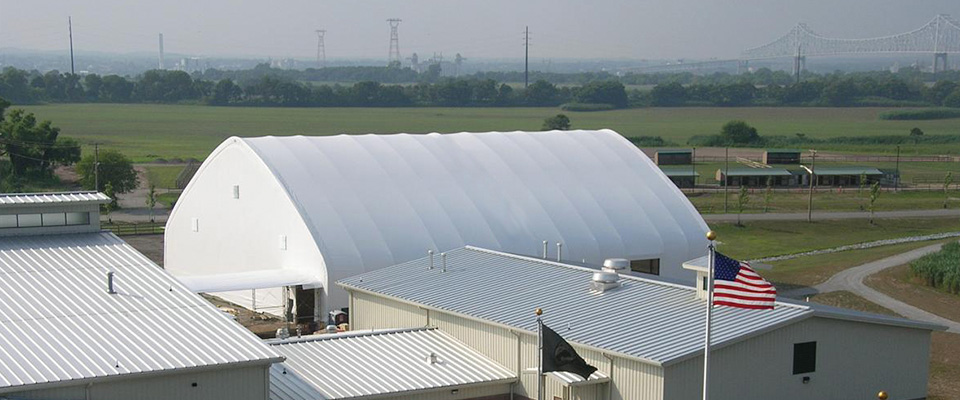 Clearspan fabric building