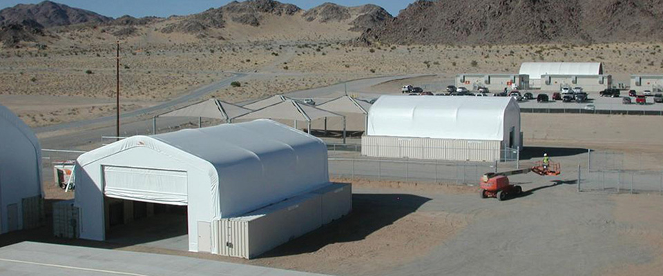 Bulk salt storage buildings