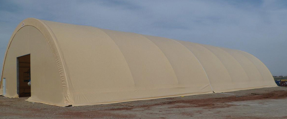 Bulk salt storage buildings