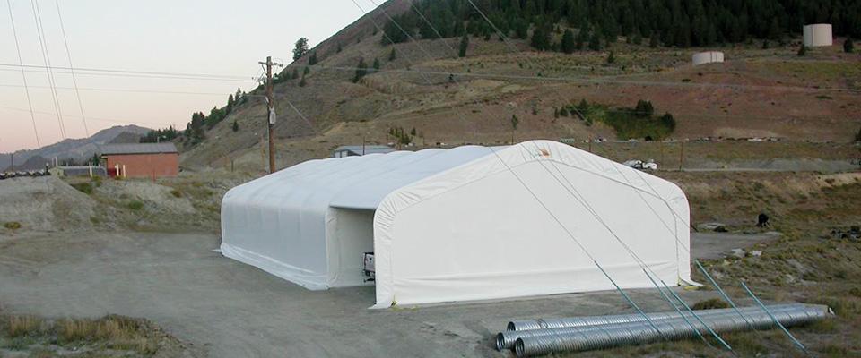 Clearspan garage