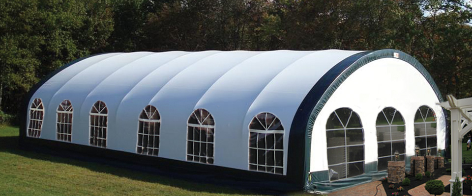 Custom fabric buildings