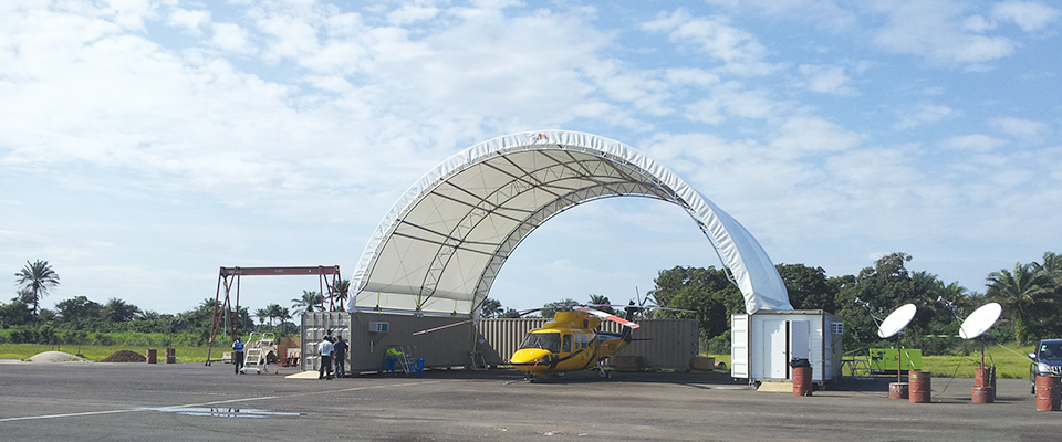 Portable hangar
