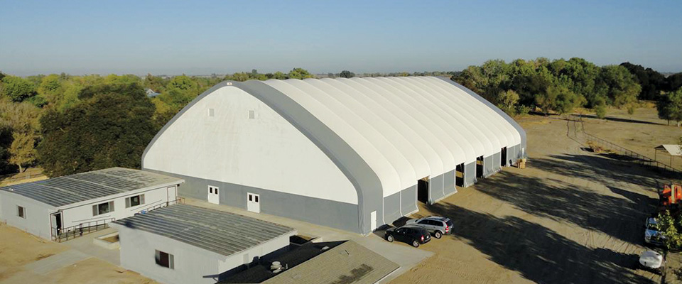 Fabric Structures Product : Clearspan fabric structures metal hybrid buildings