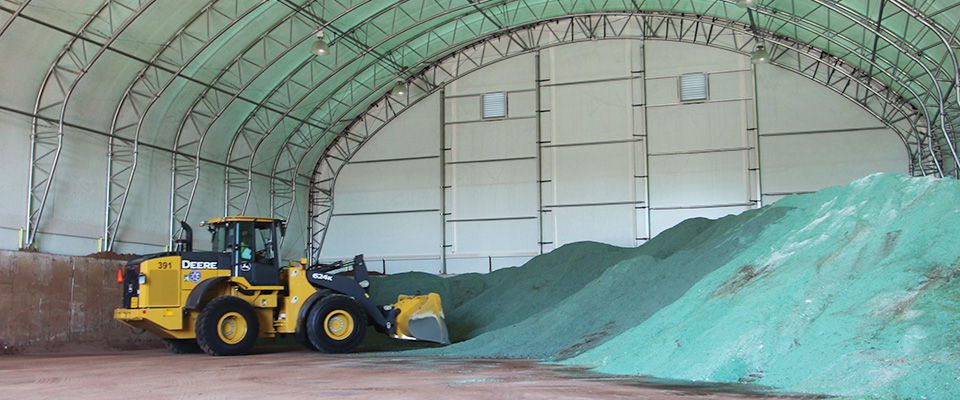 Sand and salt storage