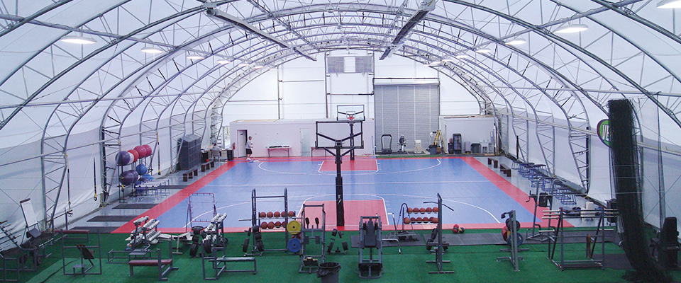 Indoor athletic facility