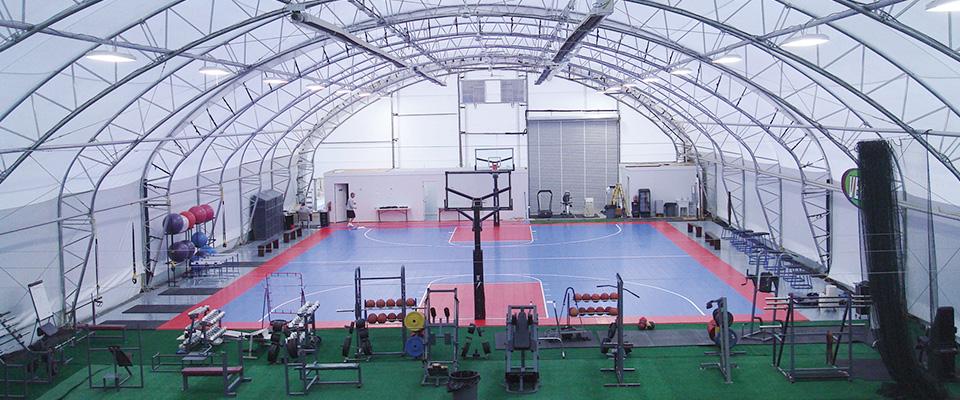 Indoor athletic facility