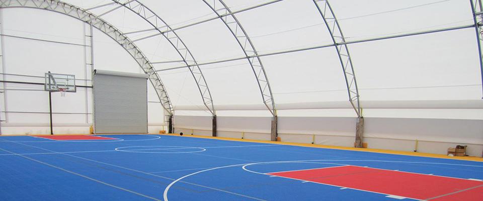 Indoor sports arena