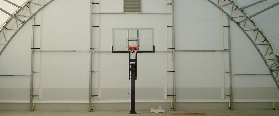 Indoor sports building