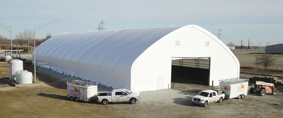 Clear Span Garages For The Oil And Gas Industry