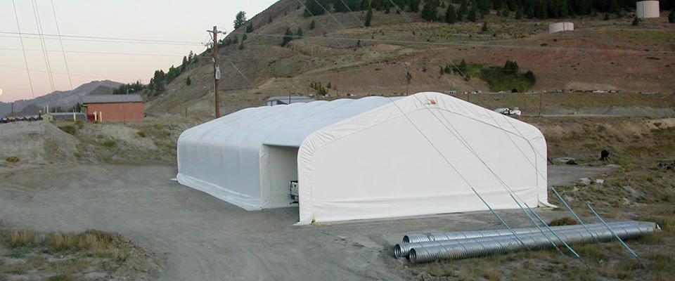Fabric garage