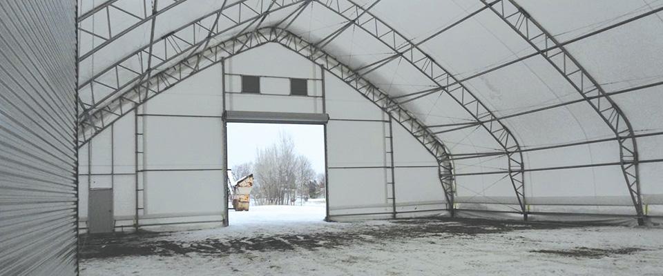 Winter boat storage buildings