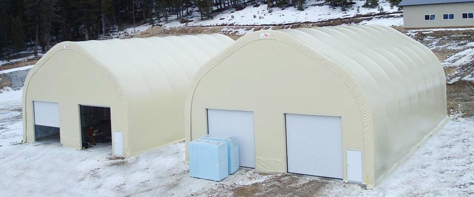 Winter storage buildings